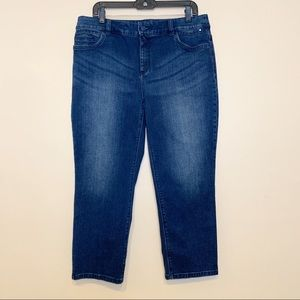So Slimming by Chico's Cropped  Skinny Jeans